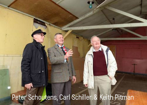 Peter Schoutens Carl Schiller and Keith Pitman - Hut 48