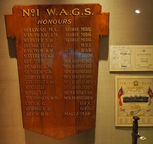 AWM Canberra 1 WAGS Display