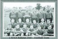 1 W.A.G.S. Football team 1940