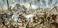 Battle for Australia Association - Battle in the jungle