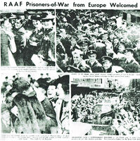 Ex RAAF POWs Welcomed Home 11 September 1945 Trove