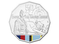 The Empire Training Scheme Commemorative coin