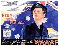 W.A.A.A.F. Recruiting Poster