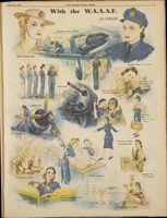 W.A.A.A.F Womens Weekly 1945