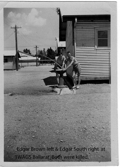 1WAGS - BROWN Edgar Harold - Service Number 401024 [1WAGS Ballarat]