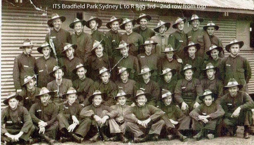 1 WAGS -BARKER Reginald Earl - 431084 [ ITS Bradfield Park Sydney]