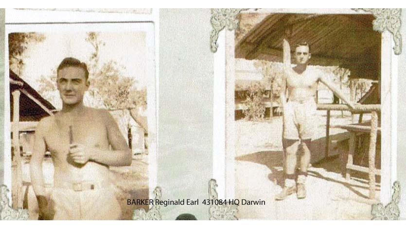 1 WAGS - BARKER Reginald Earl - 431084 [ Posted to RAAF HQ Darwin]