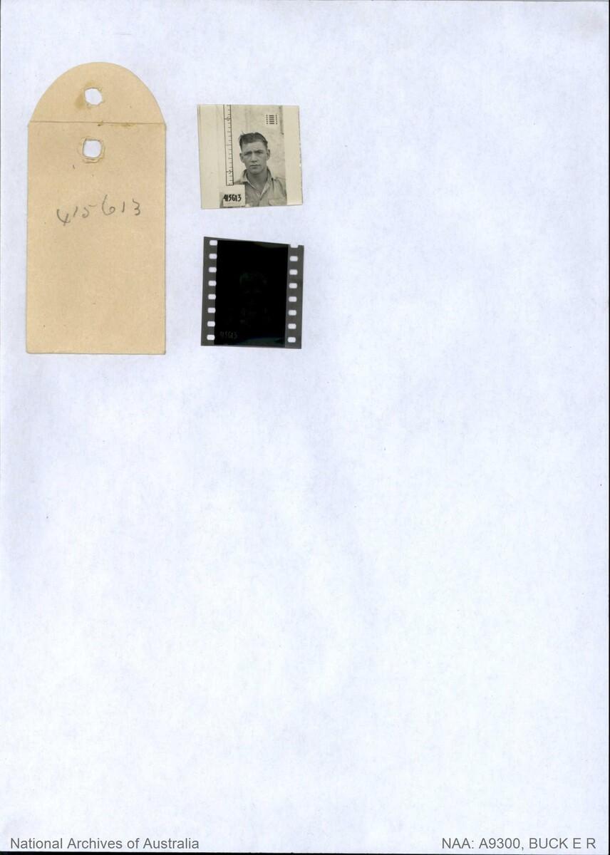 1 WAGS - BUCK Edric Robert - 415613