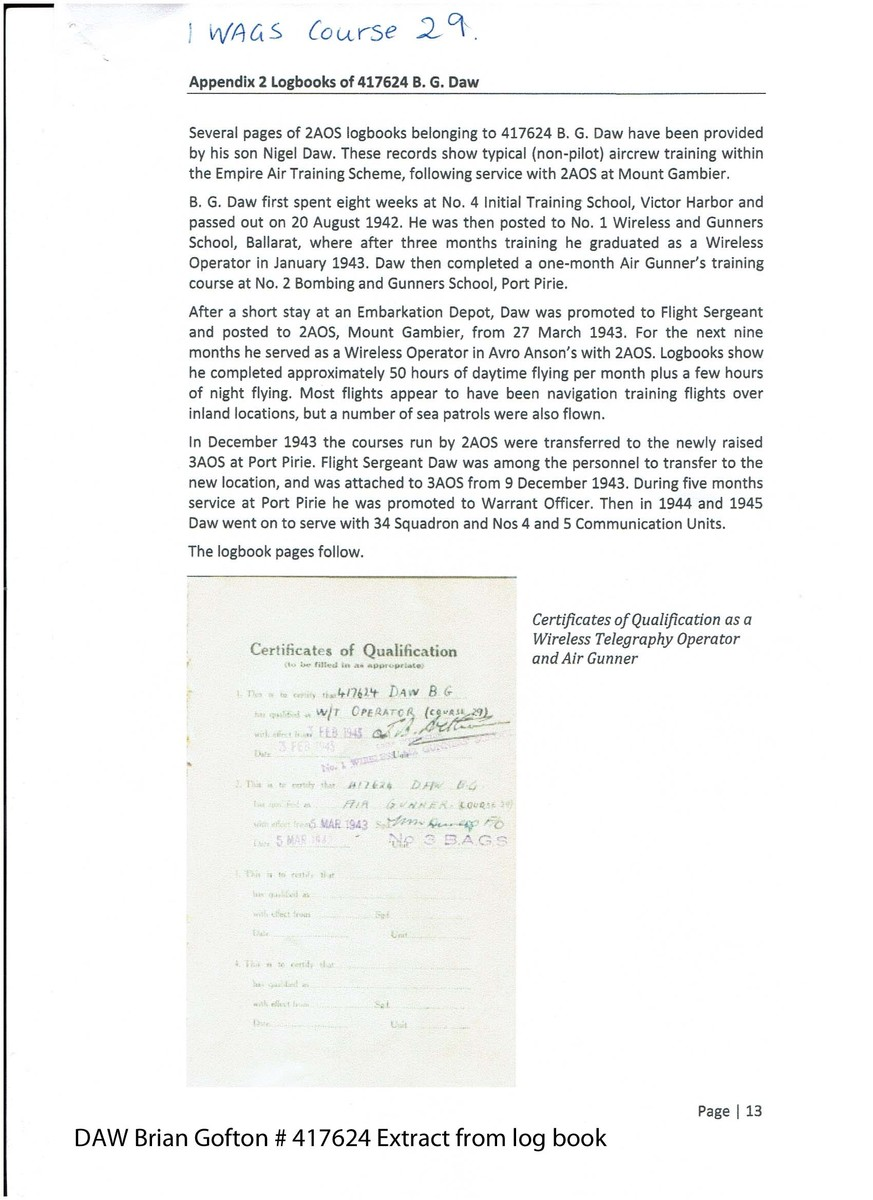 1 WAGS - DAW Brian Gofton - 417624[Service]