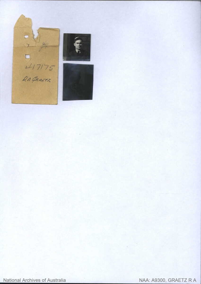 1 WAGS - GRAETZ Raymond Arnold - 417175