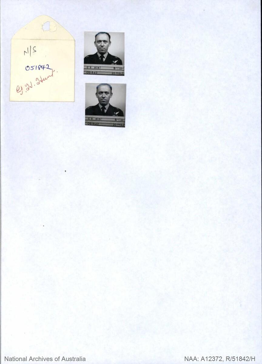 1 WAGS - HUNT Gordon Herbert - 415795