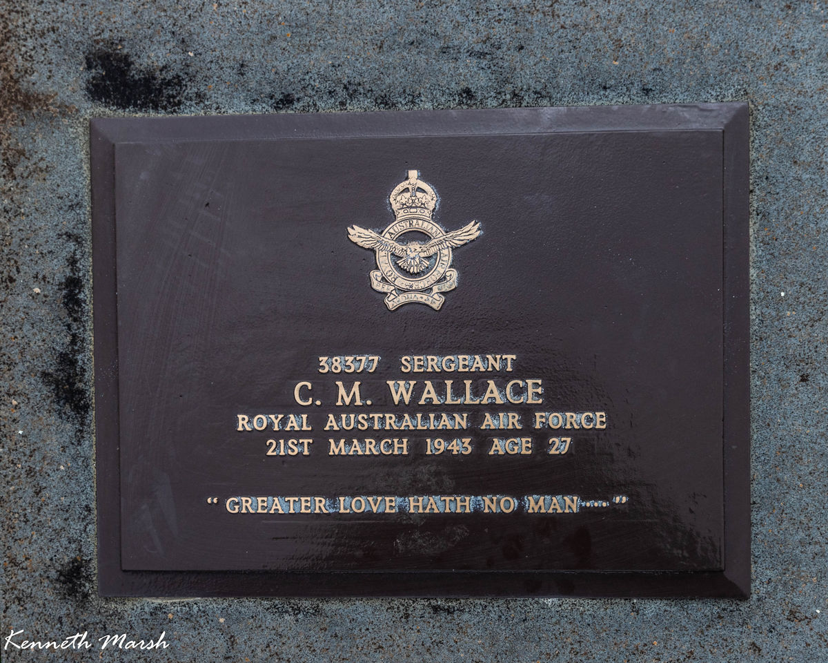 1WAGS - WALLACE C.M - Service Number 38377
