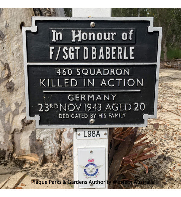1WAGS - ABERLE Douglas - Service Number 427631 (Plaque_edited-1)