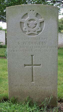 1WAGS - DURDIN Reginald Wilton - Service Number 407201 (Grave_edited-1)