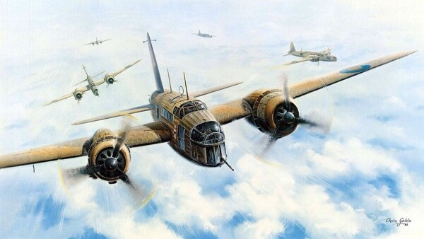 Vickers Wellington Aircraft RAAF 460 Squadron