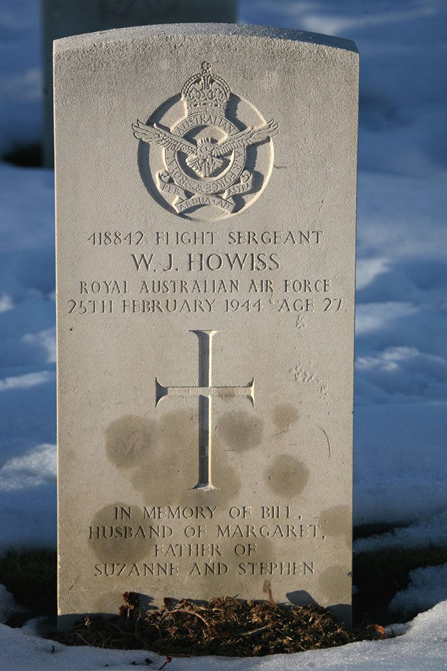 1WAGS - HOWISS William John - Service Number 418842 (Grave_edited-1)