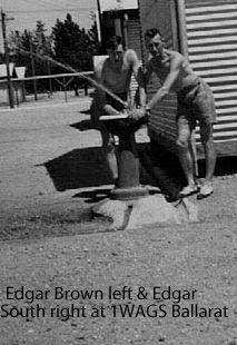SOUTH, Edgar - Service Number 401054 | 1WAGS Ballarat