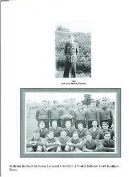1 WAGS - BERTRAM Herbert Nicholas Leonard - 407025