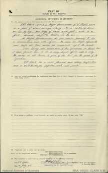 CLARK [DFC], Selwyn McKenzie - Service Number 406004 | 1WAGS Ballarat