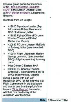 CROOK [DFC and Bar], Charles Thomas - Service Number 408800 | 1WAGS Ballarat