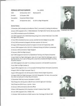 1 WAGS - DARWIN Donald Arthur - 429931 [Service History]