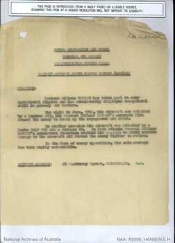 HANSEN [DFC], Edwin Harold - Service Number 415648 | 1WAGS Ballarat