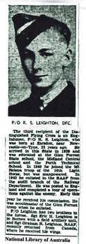 LEIGHTON [DFC], Roy Smeaton - Service Number 427337 | 1WAGS Ballarat