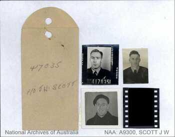 SCOTT [DFC], John Warrington - Service Number 417035 | 1WAGS Ballarat