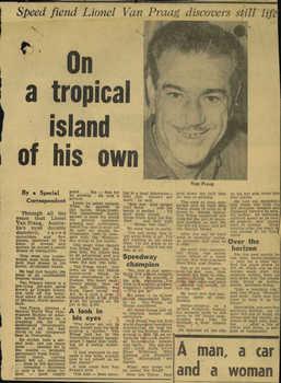 1 WAGS - VAN PRAAG Lionel Maurice - 60431 Newspaper