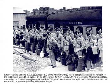 ZENNER, Russell William Cameron - Service Number 400065 | 1WAGS Ballarat