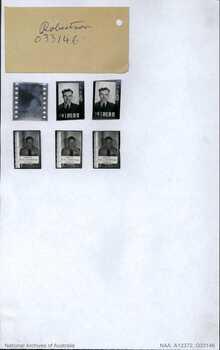 ROBERTSON, Ronald Thomas - Service Number 418680 | 1WAGS Ballarat