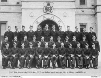 FLEAY, Alan Kenneth - Service Number 415939 | 1WAGS Ballarat