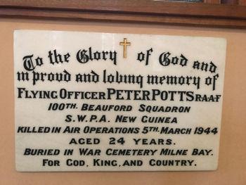 POTTS, Alexander Peter - Service Number 402094 | 1WAGS Ballarat