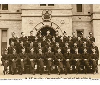 GILLETT, Archie Oswald - Service Number 417831 | 1WAGS Ballarat