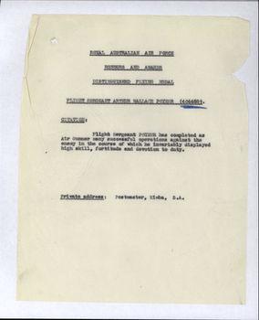 POYZER, Arthur Wallace - Service Number 404468 | 1WAGS Ballarat