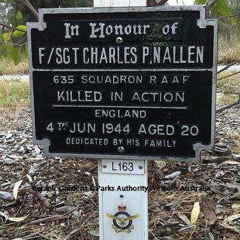NALLEN, Charles Patrick - Service Number 427537 | 1WAGS Ballarat