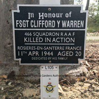 WARREN, Clifford Young - Service Number 427047 | 1WAGS Ballarat