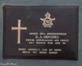 ODGERS, David Archibald - Service Number 427623 | 1WAGS Ballarat