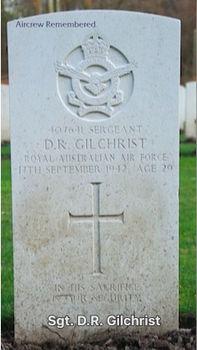 GILCHRIST, Donald Richard - Service Number 407641 | 1WAGS Ballarat