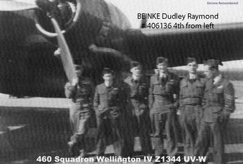 BEINKE, Dudley Raymond - Service Number 406136 | 1WAGS Ballarat