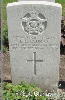 CLUNAS, Eric Clark - Service Number 415764 | 1WAGS Ballarat