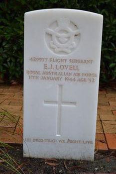 LOVELL, Eric James - Service Number 429977 | 1WAGS Ballarat