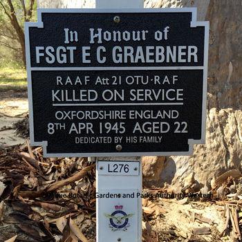 GRAEBNER, Everard Charles - Service Number 436496 | 1WAGS Ballarat