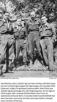 PHILLIPS, Everard John - Service Number 415273 | 1WAGS Ballarat