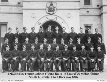 ENGLEFIELD, Francis John - Service Number 410965 | 1WAGS Ballarat