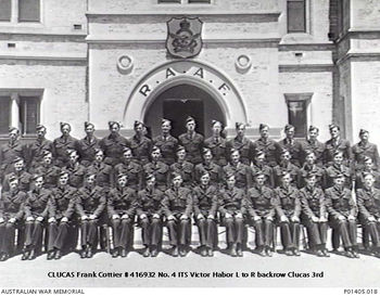 CLUCAS, Frank Cottier - Service Number 416932 | 1WAGS Ballarat