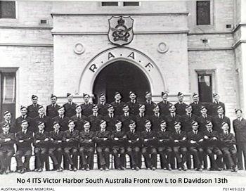 DAVIDSON, Geoffrey Henry - Service Number 410219 | 1WAGS Ballarat