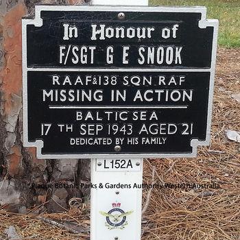 SNOOK, Graham Ernest - Service Number 415743 | 1WAGS Ballarat