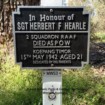 HEARLE, Herbert Frederick - Service Number 406758 | 1WAGS Ballarat