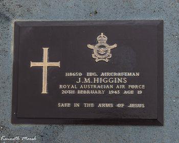 HIGGINS, Jack Maxwell - Service Number 118650 | 1WAGS Ballarat